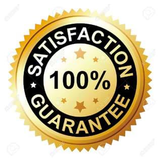 satisfacción 100% garantizada