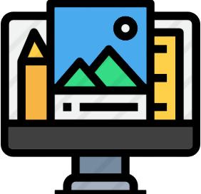 icône de conception web