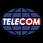 ícone do logotipo de telecomunicações