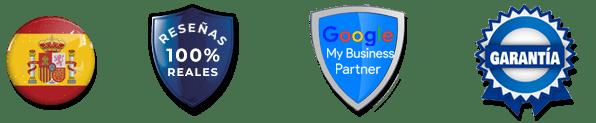 Lideres en españa, reseñas 100% reales, google partners y garantía