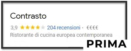 File di esempio prima di acquistare recensioni su Google